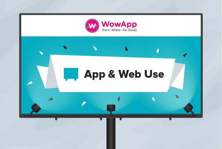 App & Web Use